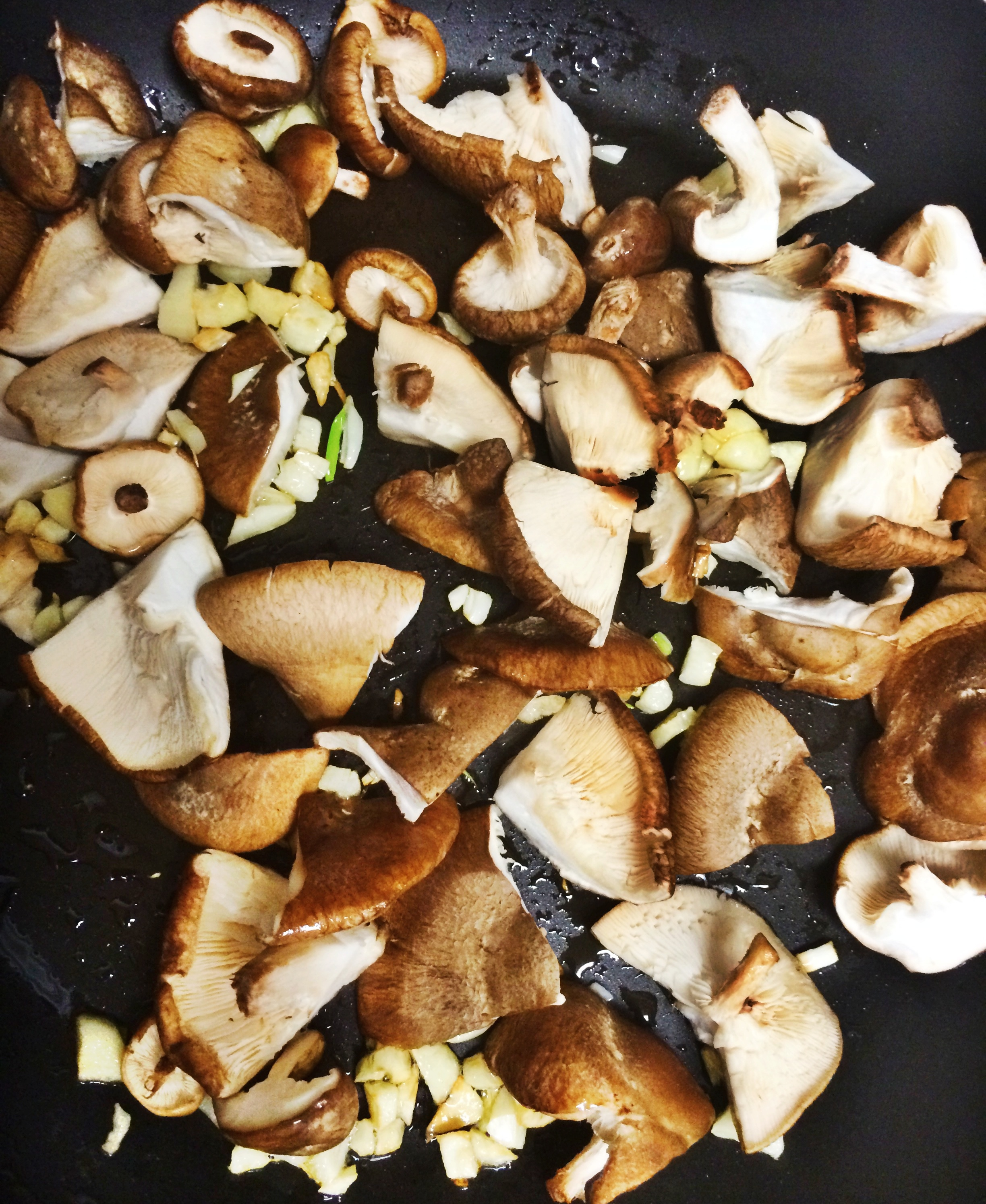 how to make crispy garlic mushrooms